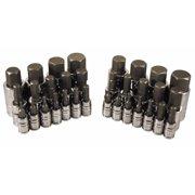 Atd Tools ATD-13783 Master Hex Bit Socket Set, 32 Pc.