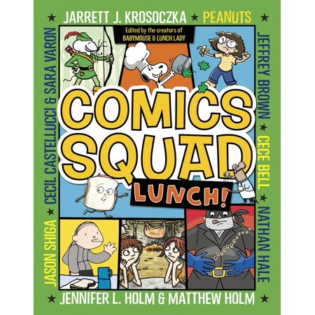 Comics Squad #2: Lunch! 2 Very Fine Comic Book