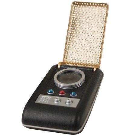 Authentic Sounds (Star Trek Light & Sound Mini Communicator Authentic Palm Sized Scifi)