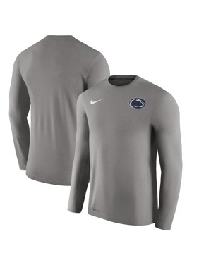 8c9c8350 Product Image Penn State Nittany Lions Nike 2017 Coaches Touch Long Sleeve  Performance T-Shirt - Charcoal