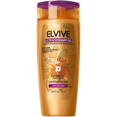 - (2 Pack) L'Oreal Paris Elvive Extraordinary Oil Curls Shampoo 12.6 FL OZ
