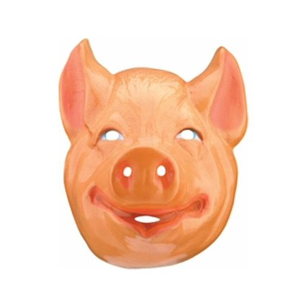 Plastic Child's Pig Mask](Pig Masks For Kids)