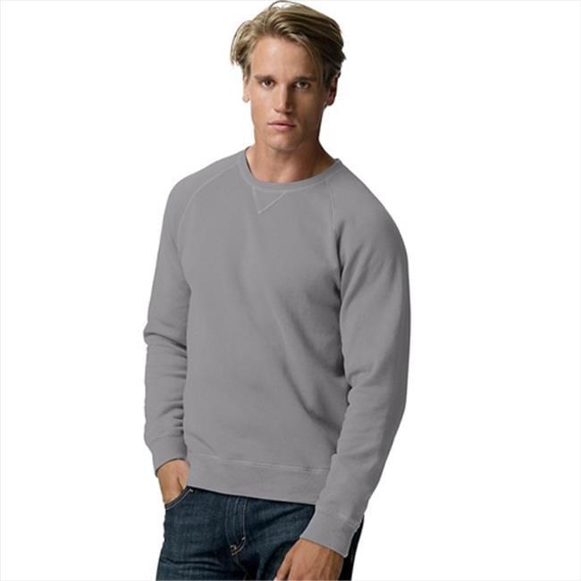 N260 Adult Nano Pullover Crew Sweatshirt Size - Medium - Vintage Gray - image 1 of 1