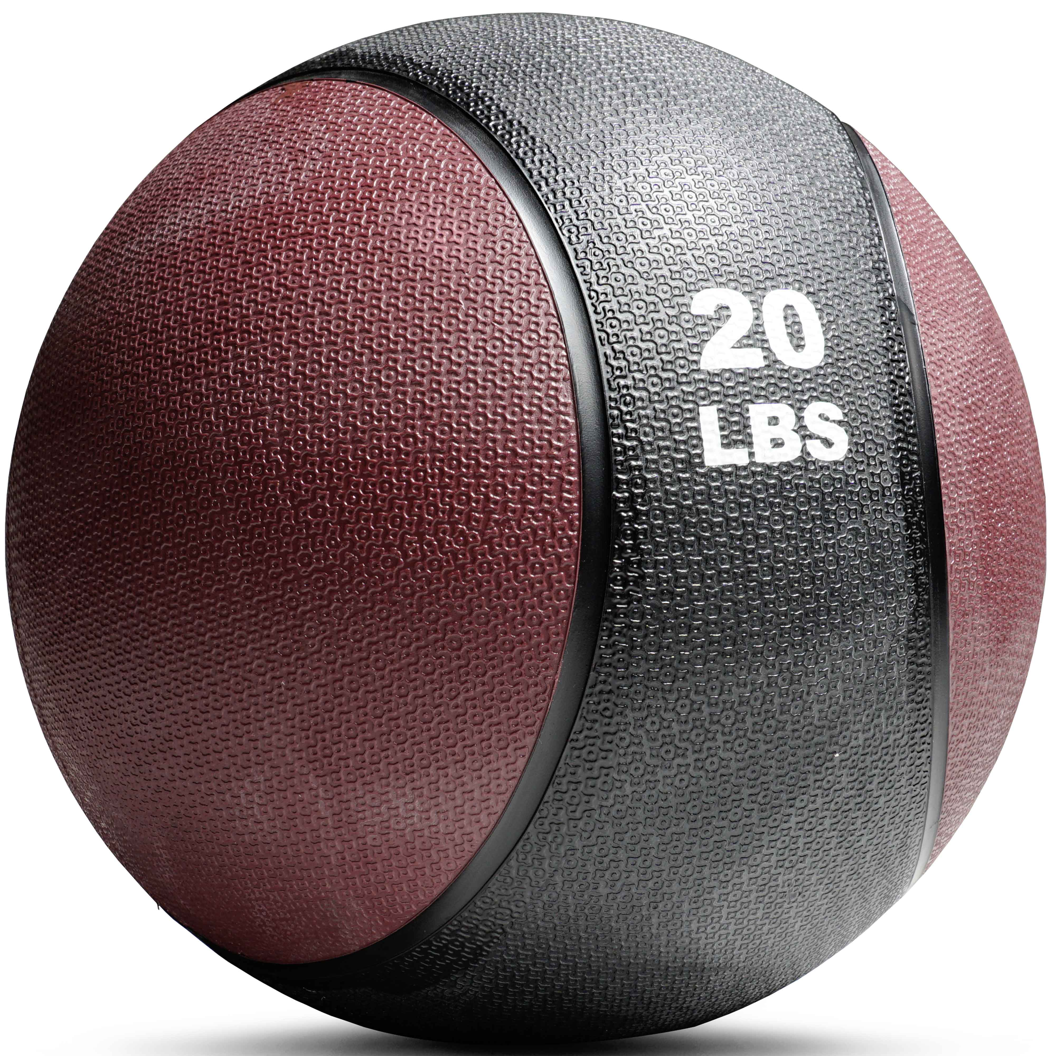 Titan Fitness Weighted Medicine Ball, 20 lb