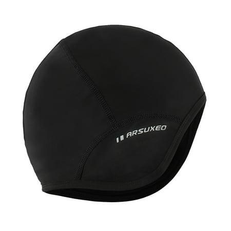 Outdoor Sports Men Cycling Cap Bicycle Bike Helmet Liner Running Skiing Fleece Windproof Bandana Winter Caps Hat