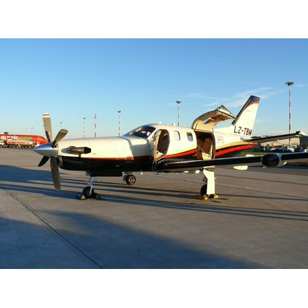LAMINATED POSTER Private Jet Runabout Airport Plane Poster Print 24 x - Private Plane