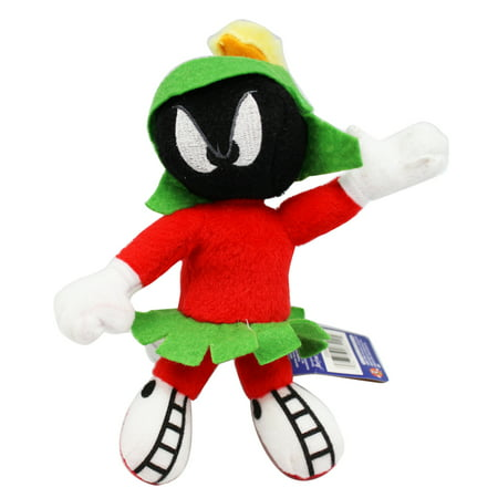 Marvin the Martian Small Size Plush Toy With Secret Zipper Pocket (Marvin The Martian In The Third Dimension)