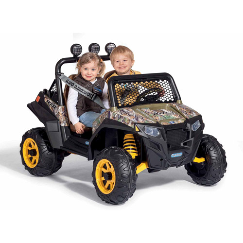 Peg Perego Polaris RZR 900 12-Volt Battery-Powered Ride-On, Camo