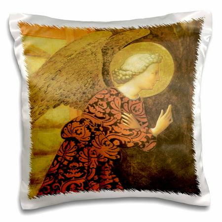3dRose The Archangel Gabriel by Masolino Da Panicale - Pillow Case, 16 by - Archangel Gabriel Boy Or Girl