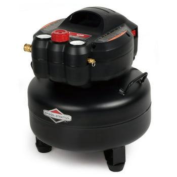 Briggs & Stratton 6-Gallon 1.5 HP 135 PSI Pancake Air Compressor