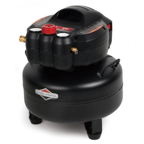 Briggs & Stratton 6 Gallon 1.5 HP 135 PSI Pancake Air Tank, 0210641