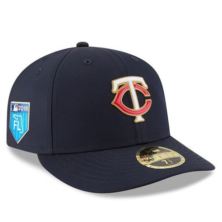 Minnesota Twins New Era 2018 Spring Training Collection Prolight Low Profile 59FIFTY Fitted Hat - Navy