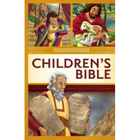 Childrens Easy-To-Read Bible-OE (Childrens Religious Books)