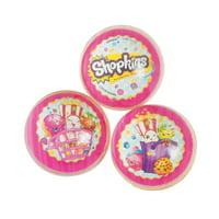 Shopkins Bounce Balls (6Pc) - Party Supplies - 6 Pieces