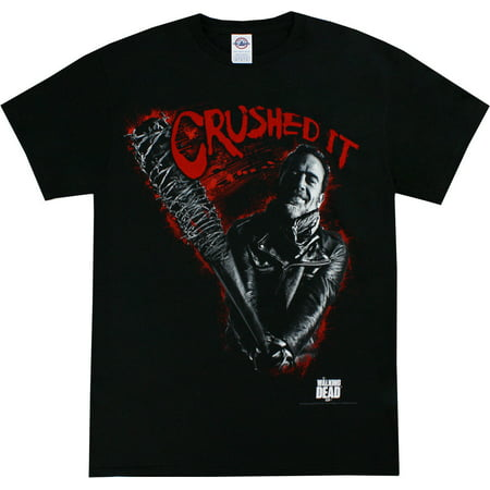 The Walking Dead Crushed It Men's Black Shirt](The Walking Dead Inspired Outfits)