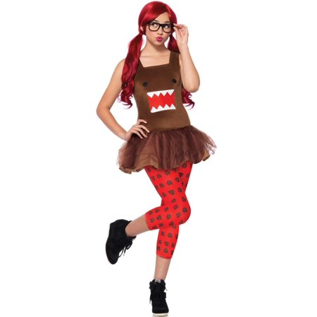 Adult Nerd Costumes (Leg Avenue Adult Nerd Domo 3-Piece)
