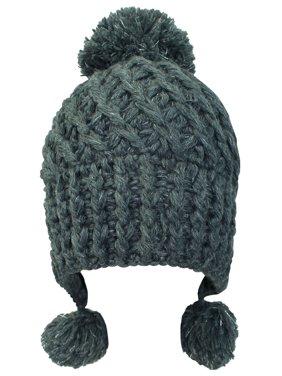 6476272da53131 Product Image Soft Knit Triple Pom Pom Beanie Hat