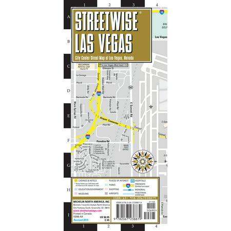 Michelin Streetwise Maps: Streetwise Las Vegas Map: Laminated City Center Map of Las Vegas, Nevada (Other) Las Vegas Billiards