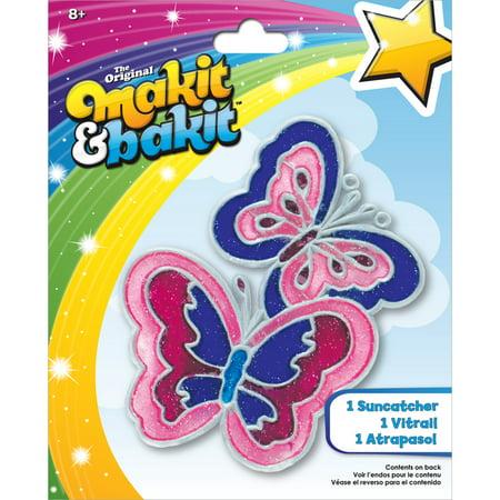 Makit & Bakit Suncatcher Kit Butterflies