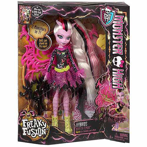 Monster High Freaky Fusion Hybrids Bonita Femur Doll