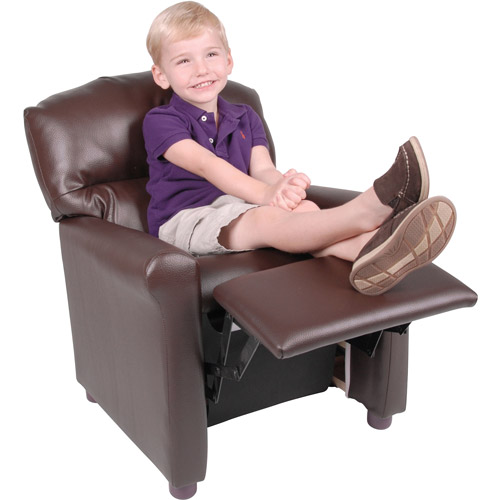 Better Homes and Gardens Faux-Leather Kids Recliner Multiple Colors - Walmart.com  sc 1 st  Walmart & Better Homes and Gardens Faux-Leather Kids Recliner Multiple ... islam-shia.org