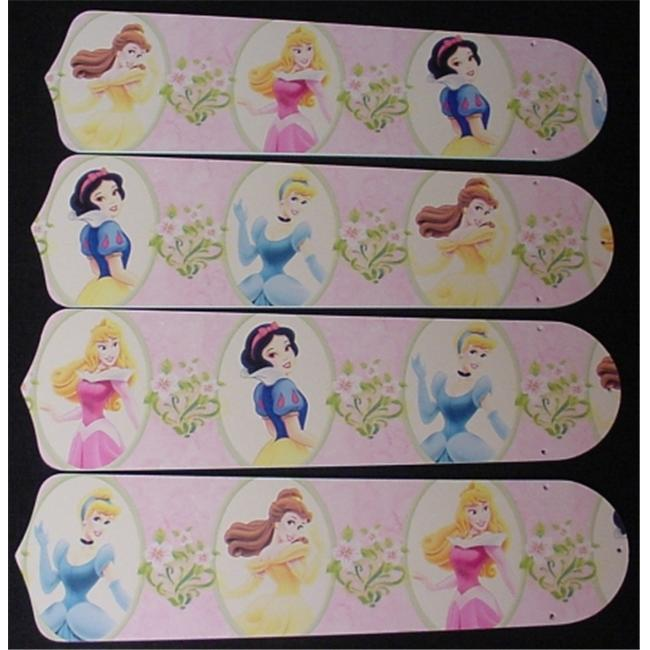 Ceiling Fan Designers 42SET-DIS-PPD Disney Princesses- Dancing 42 in. Ceiling Fan Blades Only