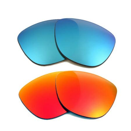 735d80d66ab Seek Optics - FROGSKINS Replacement Lenses Blue   Red by SEEK fits OAKLEY  Sunglasses - Walmart.com