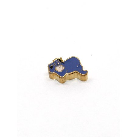 BRACCIALE DISNEY EEYORE STAINLESS STEEL GOLD PLATED FLOATING CHARM](Floating Charm)