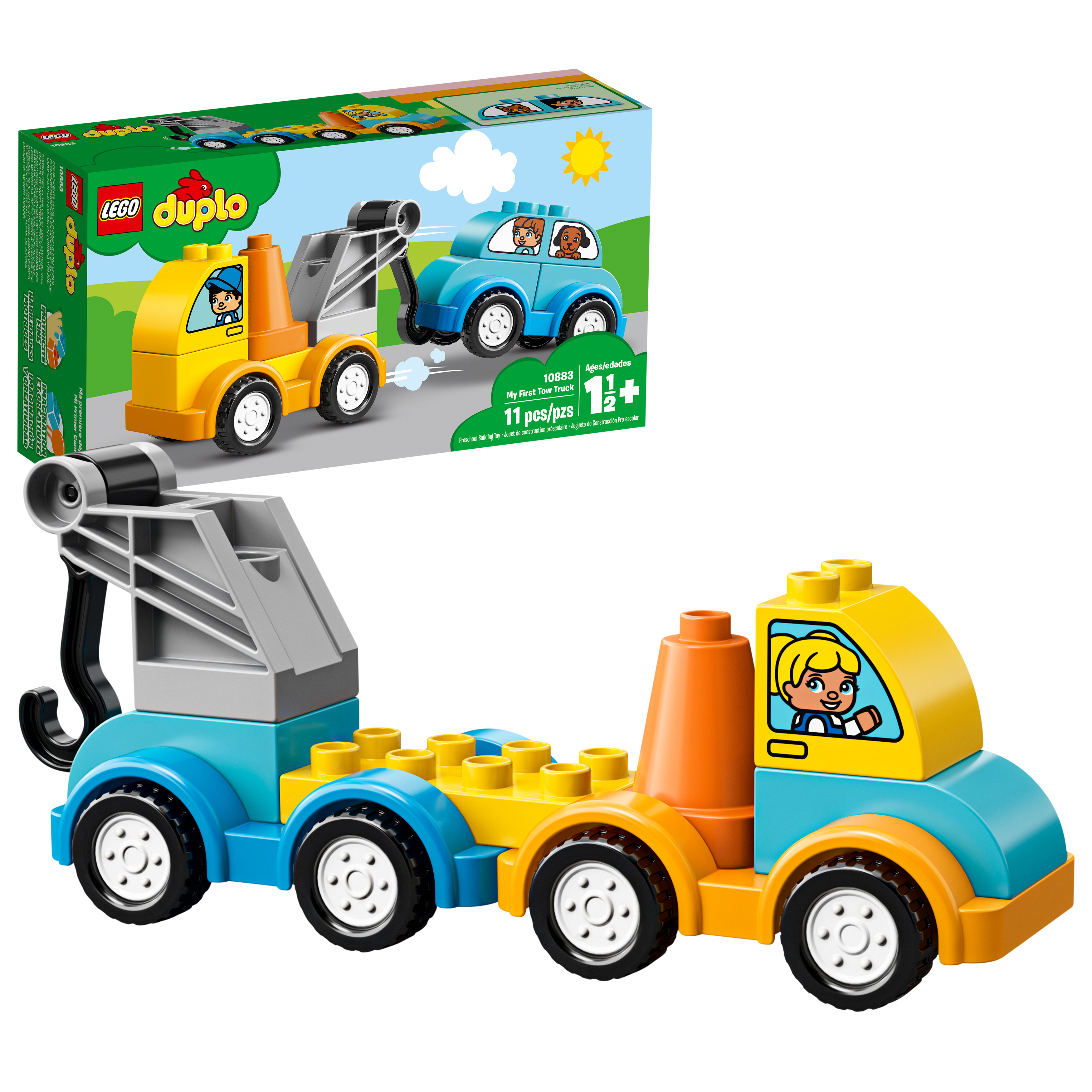 LEGO DUPLO My First Tow Truck 10883 Preschool Building Set