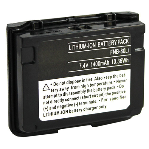 """Battery for Yaesu FNB-80 (Single Pack) Two-Way Radio Battery"""