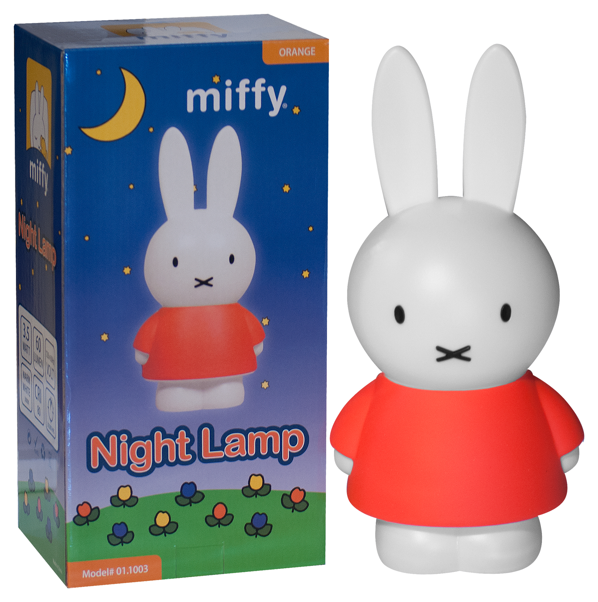 Miffy Lamp | LED Bunny Night Light for Nijntne Boek, Rabbit Lovers, and Kids for Sweet Dreams with Miffy,... by Miffy
