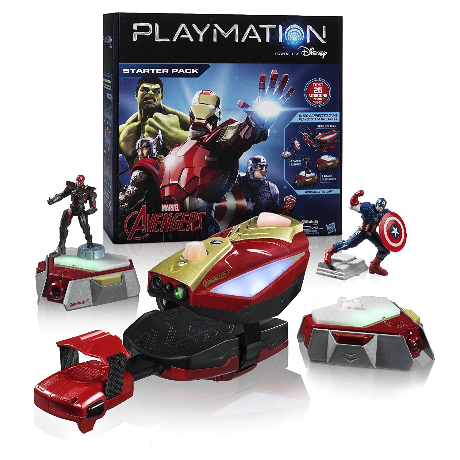 Marvel Avengers Starter Pack Repulsor(Discontinued by manufacturer)Track progress and access New missions with... by
