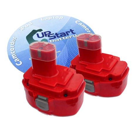 - 2-Pack Compatible Makita 5046DB Battery - Replacement Makita 18V Battery (3300mAh, NI-MH)