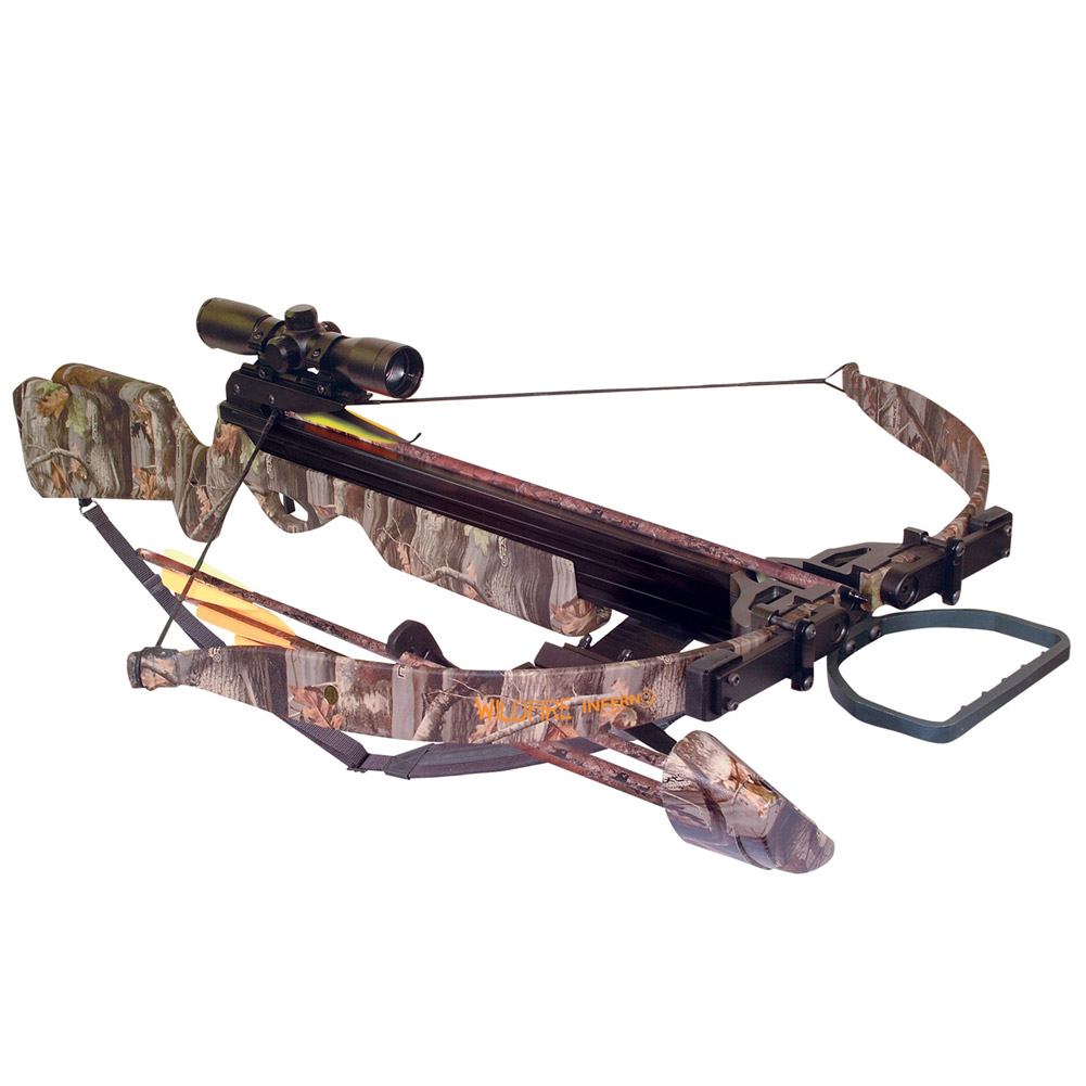 Arrow Precision Inferno Wildfire II Precision Recurve Crossbow Package