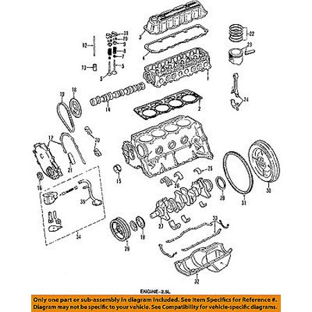 Jeep Cherokee Crankshaft (Jeep CHRYSLER OEM 92-00 Cherokee-Engine Crankshaft Crank Main Bearing 83507080AB)