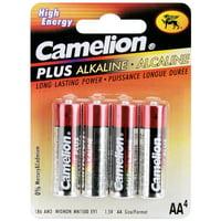 Alkaline Batteries 4/Pkg-AA