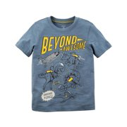 Carter's Baby Boys' Beyond Awesome Slub Jersey Tee