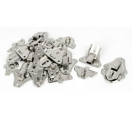 bo te bijoux outil serrue serrue serrue bascule ton argent 50x35x8mm 10pcs - image 3 de 3