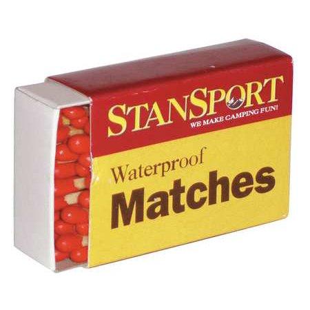 MEDIQUE 78399 Waterproof Matches,PK40 - Matchboxes Bulk