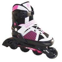 Mongoose MG-087G-S Girls' Comfortable Inline Skates, Pink