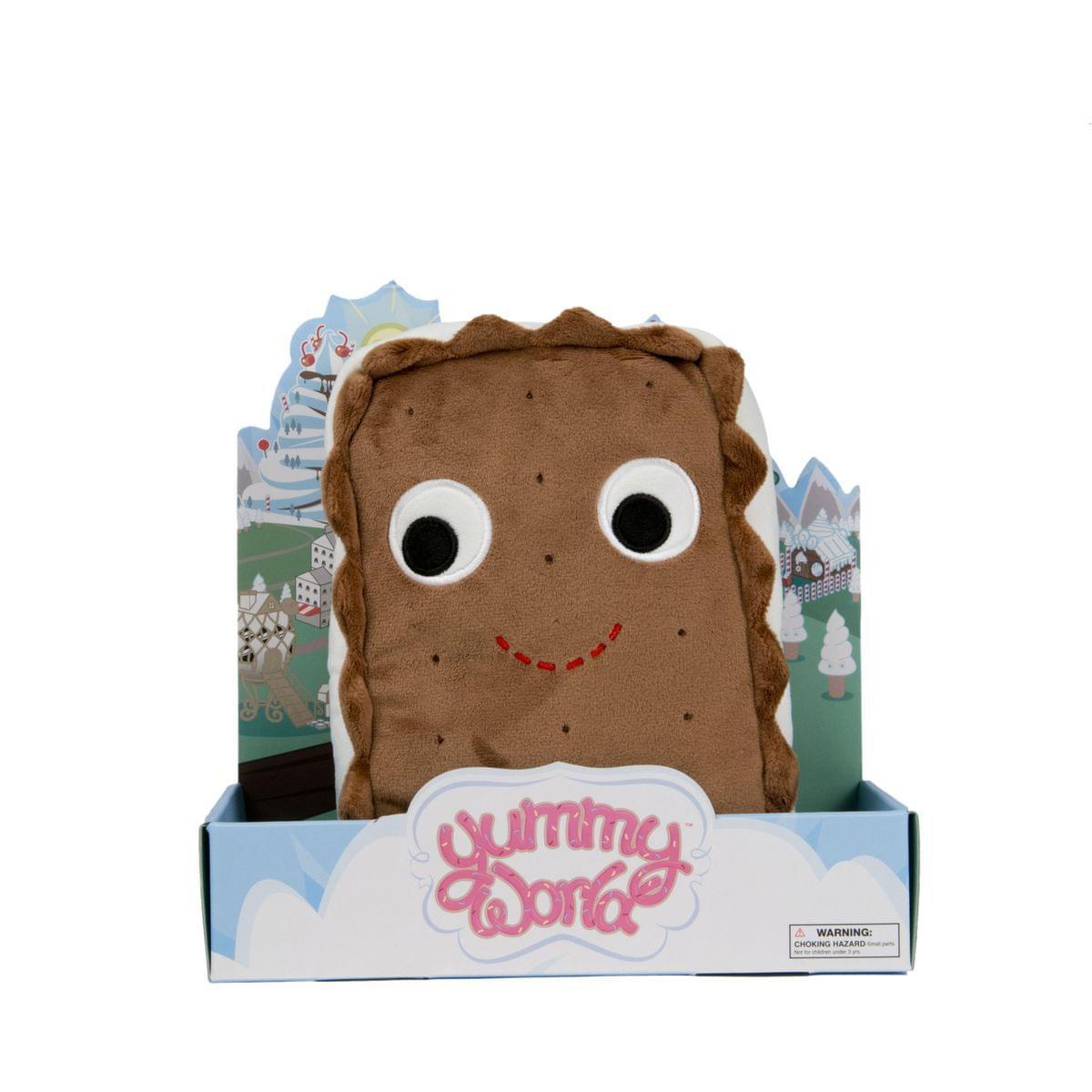 "Yummy World 10"" Designer Plush: Sandy Ice Cream Sandwich - image 1 of 1"