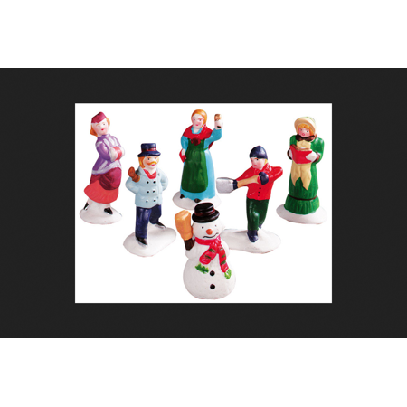 Lemax Village People Figurine Village Accessory Assorted Resin 3 in. (Village People Outfits)