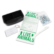 "Petmate Dog Kennel Airline Travel Kit, Medium, 8""L x 2""W x 12""H"