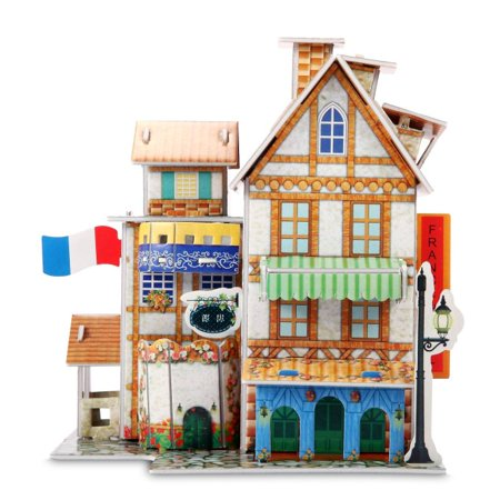 3d Puzzles For Kids (3D Puzzle Jigsaw Educational toys DIY for kids Hotel)