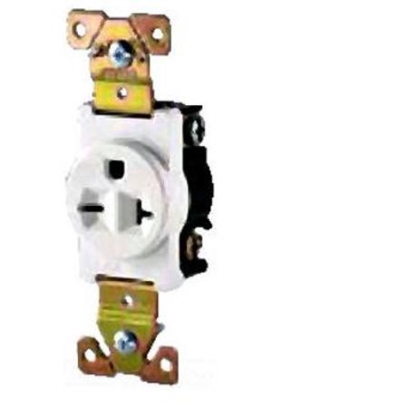Superb Cooper Wiring Devices 5461B Recp Sgl 20A250V 2P3W Brass Strap Bs Br Wiring 101 Capemaxxcnl
