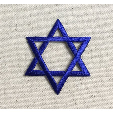 Large Royal Blue Hannukah Jewish Star Of David