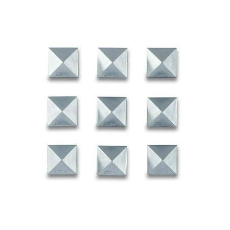 DAKINE Pyramid Studs Stomp Pad Alloy Metallic Finish (Canada Stomp Pad)