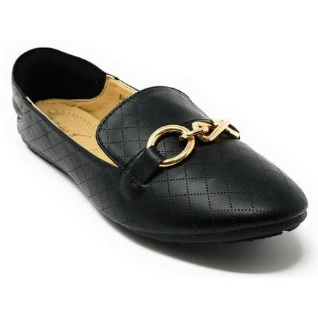 Women Convertible Ballerina Ballet Flats Loafers * 2-in-1 Design by Victoria K