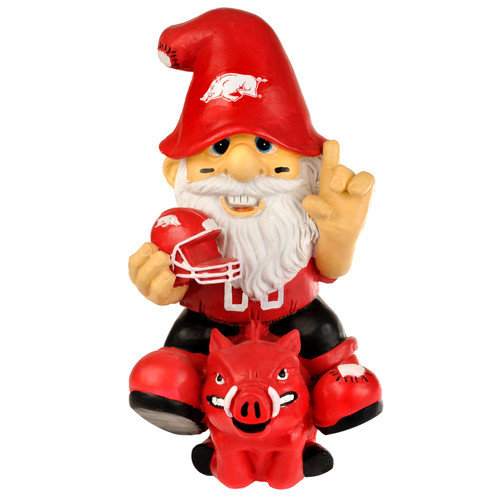 "Arkansas Razorbacks Garden Gnome 11"" Thematic - Second String"