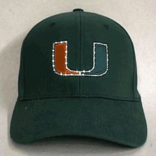 Miami Hurricanes Flashing Fiber Optic Cap